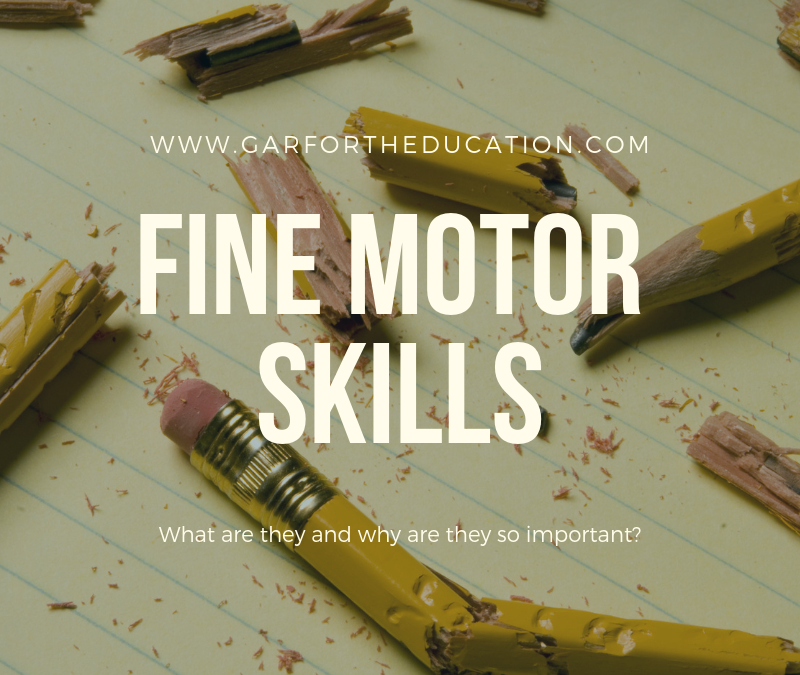 Fine Motor Skills: What are they and why are they important?
