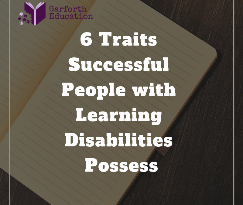 6 Traits that Help Make People with LD Successful