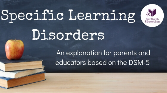 Specific Learning Disorders