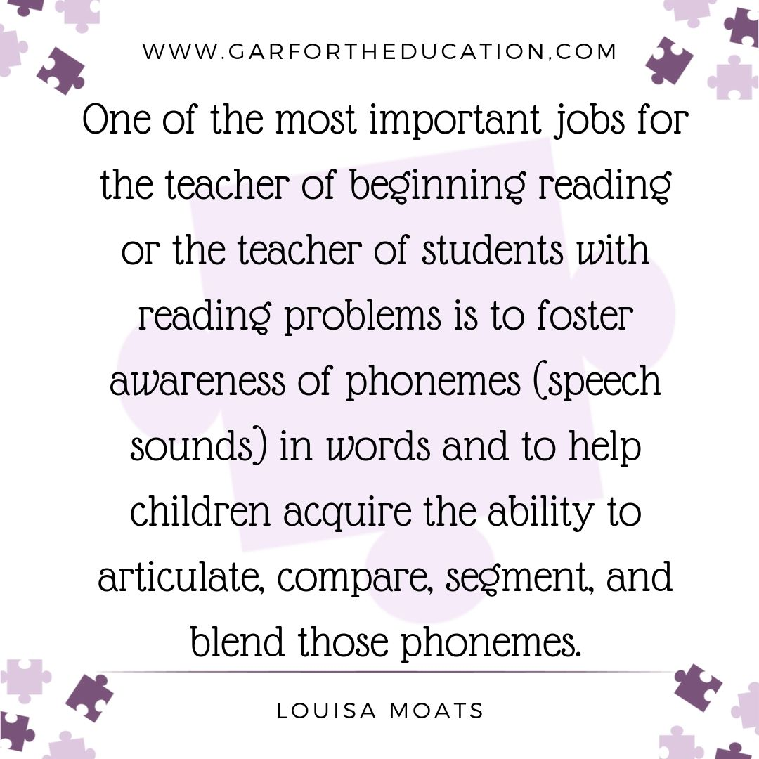 Louisa Moats Quote