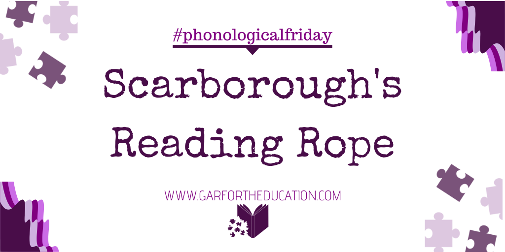 #Phonologicalfriday: Scarborough's Reading Rope